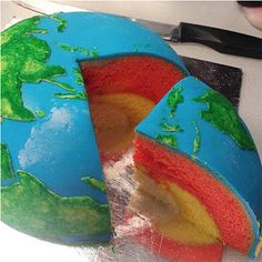 2000 Watts: Planetary Structural Layer Cakes Designed by Cakecrumbs