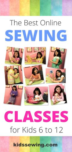 Do you want to teach your kids to sew, but not sure where to start? Have you tried searching for beginning sewing classes, but not found much for kids? Well, now there is a solution! Your kids can learn how to sew, even if you have little to no sewing experience in just one hour a week. Our online sewing classes make sewing easy and fun for kids. Start your kids on the right foot with our 1-year beginning course that includes 35 easy projects that kids will enjoy making!