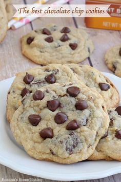 No mixer needed to make these large, buttery chocolate chip cookies. With their crisp edges, chewy middles and overloaded with chocolate they are everything you dreamed an amazing chocolate chip cookie would be.