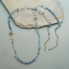 BLUE MEDLEY NECKLACE: View 2