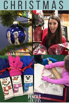 I hope you love the FREE student gift, crafts, ideas to teach the importance of giving, activities, centers, and ornament keepsakes I'm sharing today on the blog! Discover 10 ways to celebrate the Christmas season with preschool, kindergarten, and first grade students too! #christmas #kindergarten #preschool #firstgrade #christmascraft