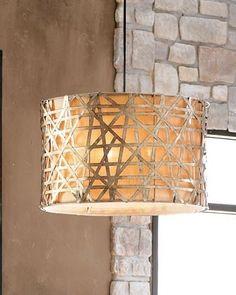 transitional gold pendant light http://shop.southshoredecorating.com/UM-21108  $305
