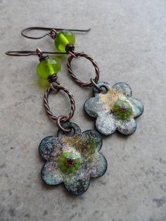 Green+Peace+...+Enameled+Copper+Lampwork+and+Copper+by+juliethelen