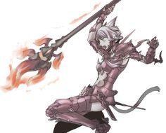 dragoon 竜騎士 final fantasy ff14 xiv artwork job