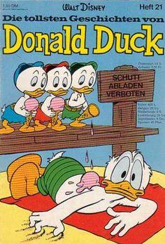 Die Tollsten Geschichten von Donald Duck 21 Classic Cartoon Characters, Classic Cartoons, 1970s Cartoons, Disney Cartoons, Pato Donald Y Daisy, New Ducktales, Donald Duck Comic, King Koopa, Disney Best Friends