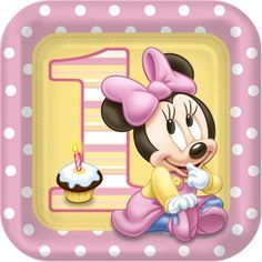 Here you find the best free Minnie Mouse Birthday Clipart collection. You can use these free Minnie Mouse Birthday Clipart for your websites, documents or presentations. Minnie Mouse First Birthday, Minnie Mouse Theme, Mickey Y Minnie, Baby Mouse, Baby 1st Birthday, Disney Birthday, 1st Birthday Party Supplies, 1st Birthday Parties, Birthday Lunch