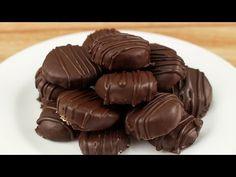 Medallones de chocolate y menta | delicias.tv