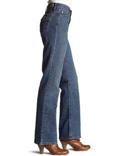 Levi's 512 Misses Perfectly Slimming Boot Cut Jean with Tummy Slimming  Panel - 99% cotton, 1% spandex. Price: $32.99 Click http://www.amazon.com/gp/product/B0018PC23E/ref=as_li_qf_sp_asin_il_tl?ie=UTF8&tag=kindlefreco-20&linkCode=as2&camp=1789&creative=9325&creativeASIN=B0018PC23E to buy it.