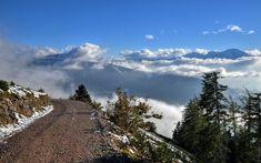 Mountain Road 16:10 wide Background by Burtn on deviantART