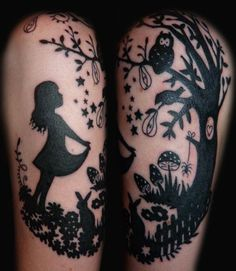 sterntaler tattoo by miss Candy Cane