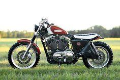 Скрэмблер-трекер Harley-Davidson XL1200