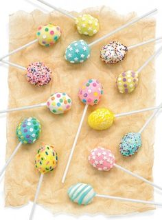 Carrot-Cake Easter Egg Cake Pops - Parenting.com