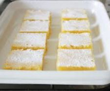 Recipe Tangy Lemon Squares by nicky parsons, learn to make this recipe easily in your kitchen machine and discover other Thermomix recipes in Baking - sweet. Cantaloupe Recipes, Radish Recipes, Easy Homemade Recipes, Sweet Recipes, Cheddarwurst Recipe, Mulberry Recipes, Spagetti Recipe, Mushrooms, Cake