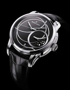 Maurice Lacroix 'Pontos Décentrique GMT' watch.