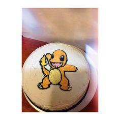 Charmander cake, pokemon