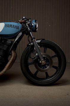 yamaha cafe racer- love the throwback design