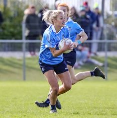 """DUBLIN'S late, late match-winner Nicole Owens admitted that coming off the bench to score the decisive goal against Galway in the Lidl Ladies NFL Division 1 semi-final was """"not the ideal way"""" to clinch victory. Nfl Divisions, Dublin, Victorious, Ireland, Soccer, Football, Running, Lady, Ideas"""