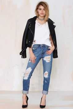 Nasty Gal Denim - The Ex Boyfriend | Shop Clothes at Nasty Gal!