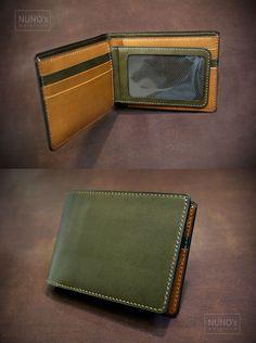 leather wallet - NUNO's workroom.                                                                                                                                                     More