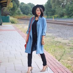 Black Outfit Ideas For Spring | POPSUGAR Fashion