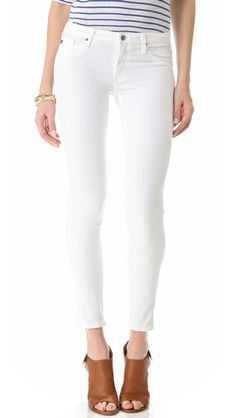 Just got these @AGJeans AG Adriano Goldschmied Legging Ankle Jeans. Fits like a glove and feel buttery soft!