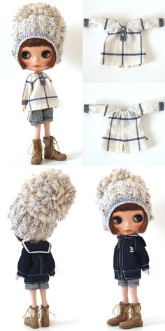 ** Blythe outfit ** Lucalily 296**の画像:mahounote.