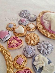 Удивительно красивое печенье от Амбер Шпигель (Amber Spiegel)