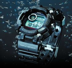 Casio's newest G-Shock Frogman is their most robust dive watch yet. The iconic dive watch gets even better. Casio Frogman, Casio G Shock Frogman, Casio G Shock Watches, Sport Watches, Casio Watch, Best Watches For Men, Cool Watches, Men's Watches, Popular Watches