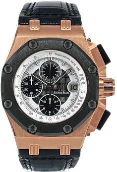 Audemars Piguet 26078RO.OO.D002CR.01 Royal Oak Offshore Rubens Barrichello II Chronograph. #audemarspiguet