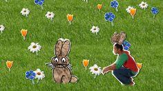 Liedje Stel je bent een konijn, dan eet je alleen nog maar wat je lekker vindt! Alleen maar worteltjes en geen spruitjes en andijvie!