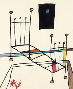 """""""Once Upon a Time"""": Slide Show: Kurt Vonnegut's Whimsical Drawings - The New Yorker"""
