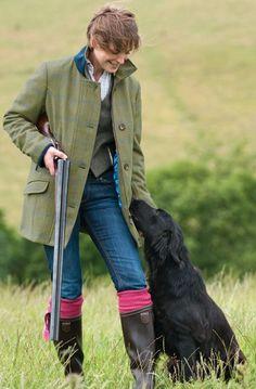 The Moorcot Ladies Tweed Shooting Jacket Hunting Clothes, Hunting Gear, Hunting Dogs, Hunting Outfits, Hunting Season, Country Dresses, Country Outfits, Tweed Shooting Jacket, Celtic Clothing