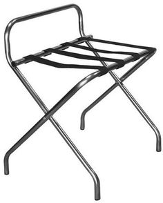 Proman Products Katella Commercial Grade Luggage Rack - Stainless Steel Tubing
