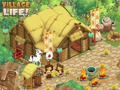 Playdemic | Games | Village Life