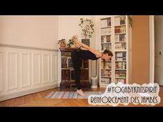 Yoga by Knit Spirit - Renforcement des jambes - YouTube