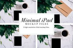 75% OFF Minimal iPad Mockups by The Inspired Editorial on @creativemarket