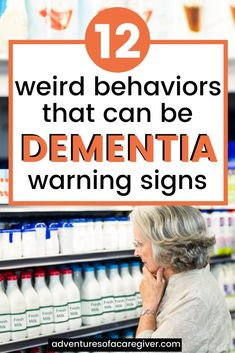 Is your aging mom behaving strangely? Wondering if she's just having a senior moment or if it's something else? Dementia is sneaky and there can be early signs if you know what to look for. Early Dementia, Dealing With Dementia, Stages Of Dementia, Dementia Symptoms, Alzheimer's And Dementia, Activities For Dementia Patients, Alzheimers Activities, Elderly Activities, Alzheimer Care