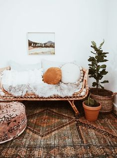 Sooo pretty, but I couldn't imagine having that as my one and only sofa. But for like a conservatory with bohemian vibes