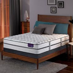 The Lause Ii Plush Hybrid Mattress Offers Familiar Look And Feel Of A Traditional With Unique Benefits Our Everfeel Triple