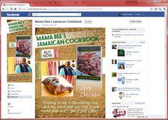Mamma Dee's Jamaican Cookbook - Facebook fan page  ( pre-timeline )