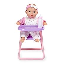 You & Me - 8 inch Mini Baby Doll with High Chair