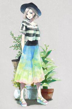 「summer girl」/「ふとん」のイラスト [pixiv]