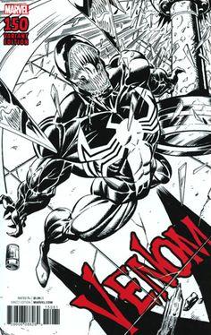 Venom Vol 3 #150 Cover H Incentive Mark Bagley Remastered Sketch Variant Cover