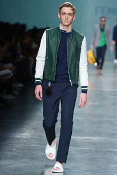 Fendi Men's RTW Spring 2015 - Slideshow