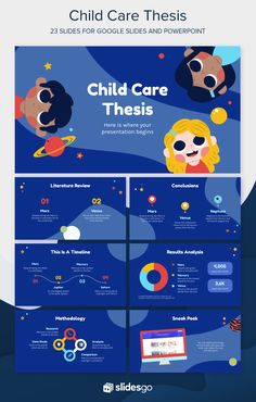 Defend your thesis with this cute Google Slides theme and PowerPoint template for your presentation. It will be a child's play! Design Presentation, Presentation Slides, Presentation Templates, Web Design, Slide Design, Graphic Design, Template Power Point, Powerpoint Design Templates, Flyer Template