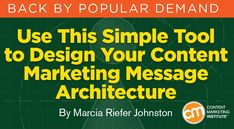 Just as you don't build a house without a floor plan, you shouldn't create content without a message architecture. Here's how – Content Marketing Institute