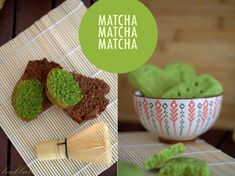 How to match matcha tea with baking recipes – Matcha-Marmor-Gugelhupf & Matcha-Shortbread