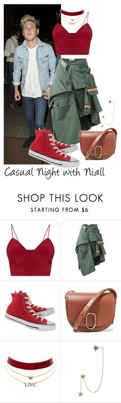 """Casual Night with Niall"" by gingy333 ❤ liked on Polyvore featuring Nudie Jeans Co., Faith Connexion, Converse, 3.1 Phillip Lim, Charlotte Russe and Zimmermann"