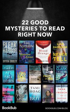 These 22 mystery books will keep you guessing long into the night! Books You Should Read, Best Books To Read, I Love Books, My Books, Reading Books, Teen Books, Book Club Books, Book Nerd, Book Lists