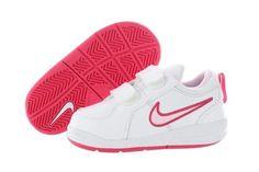 New Jordan Shoes 10   ... Nike Pico 4 (TDV) 454478-103 White Prism Pink Velcro Shoes Infant